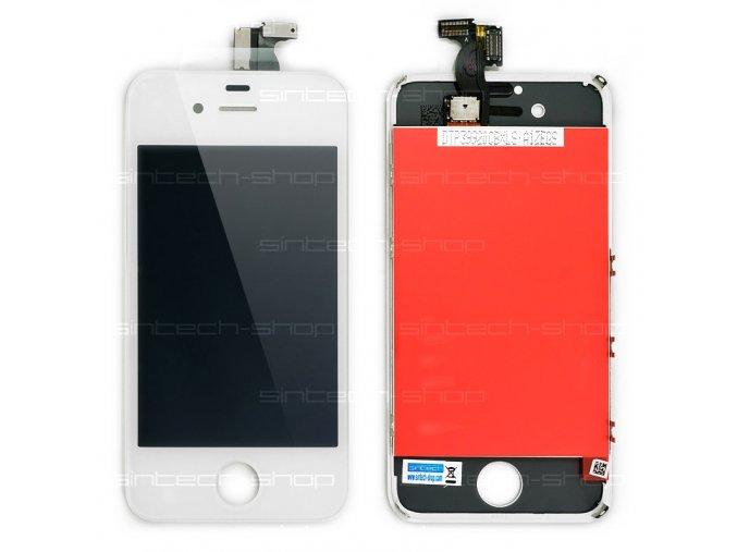 iPhone 4S kompletní čelní díl s LCD ORIGINAL - bílý