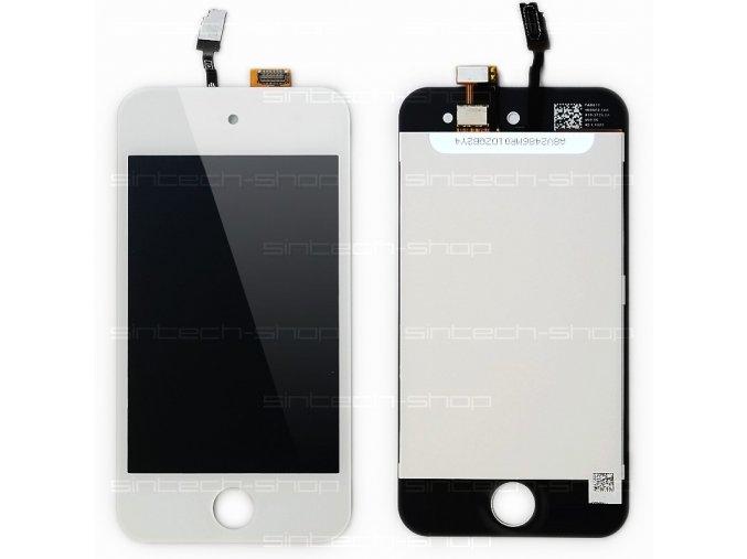 iPod Touch 4G Display komplet (sklo, LCD, Touchscreen) - bílý