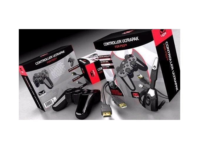Giotec PS3 Controller Ultrapak - ovladač, headset, HDMI