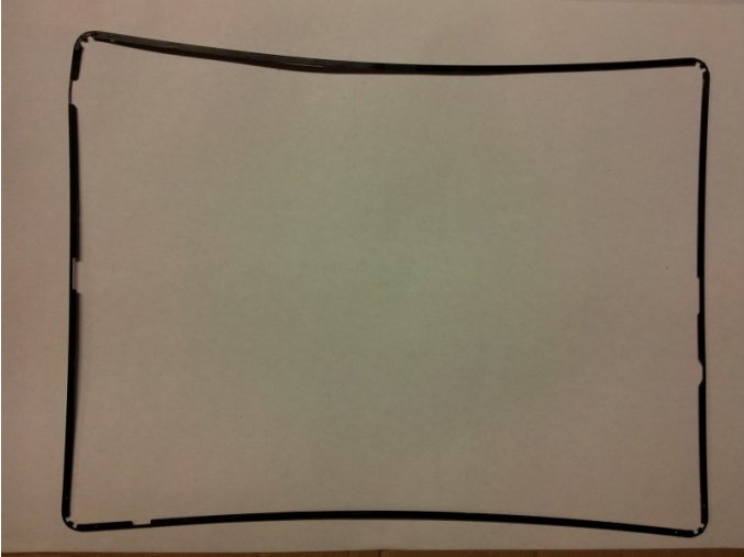 iPad 2 středový rám - černý