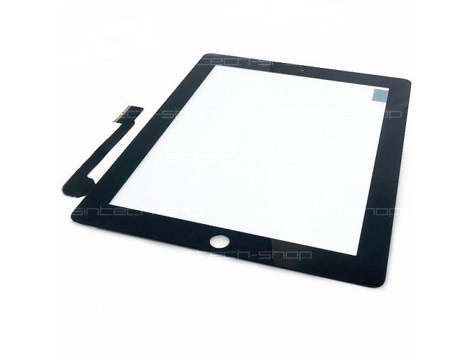 iPad 3 / iPad 4 čelní sklo + digitizer (Touchscreen) - černý
