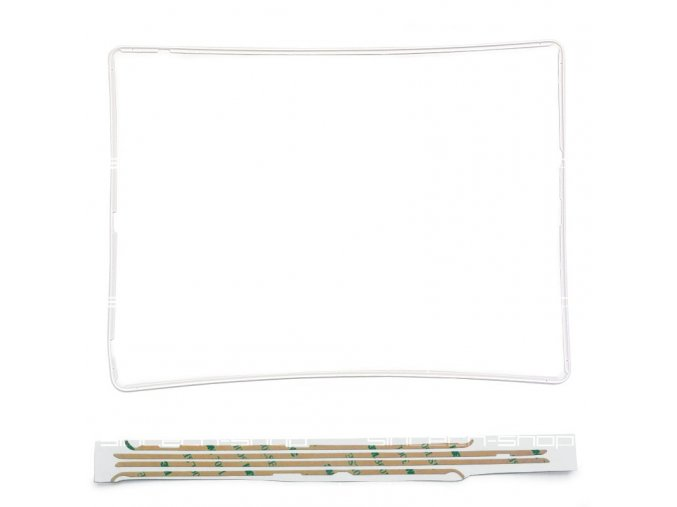 iPad 3/4 středový rám - bílý