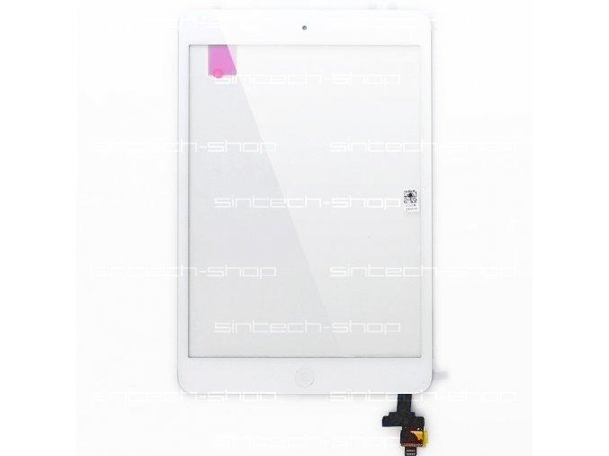 iPad Mini / Mini 2 čelní sklo + digitizer - bílý, SINTECH© Premium, včetně IC a Home button