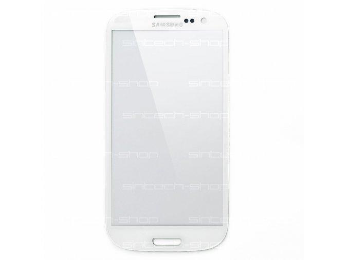 Samsung Galaxy S3 sklo dotykové, čelní, bílé i9300/i9301