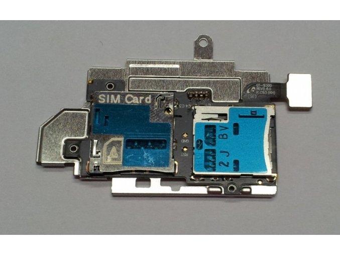 Samsung Galaxy S3 i9300 slot SIM karty a SD karty