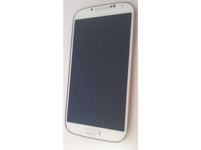 Samsung Galaxy S4 i9505 LTE, bílý - displej s rámem