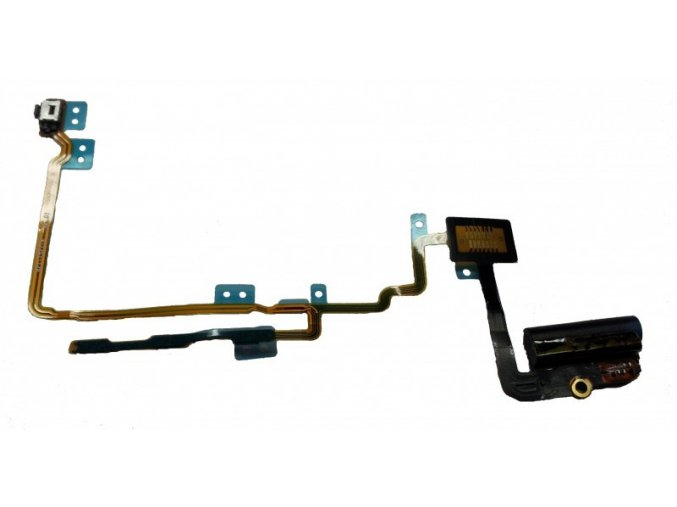 iPod Nano 7G černý, jack sluchátek