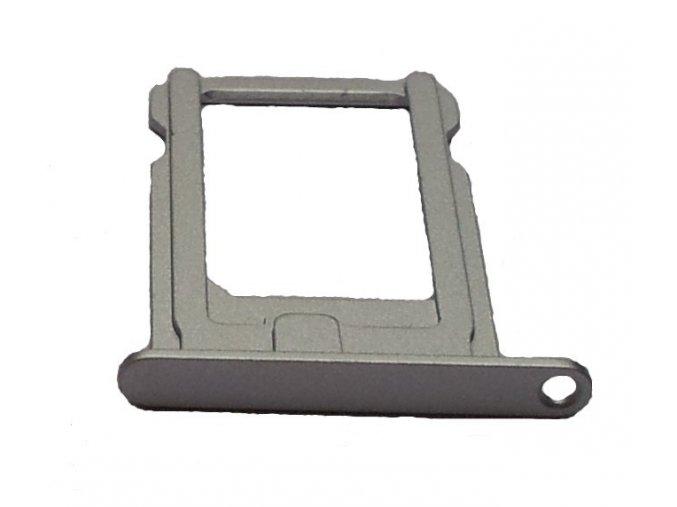 iPhone 5S/SE držák nano Sim karty, stříbrný