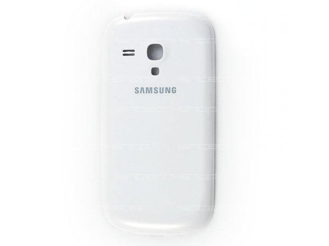 Samsung Galaxy S3 Mini i8190 / i8195 kryt baterie, bílý