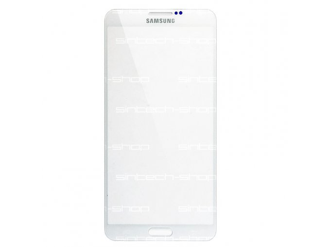 Samsung Galaxy Note 3 bílý, čelní sklo