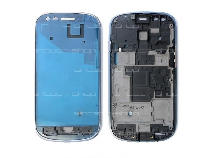 Samsung Galaxy S3 Mini i8190 přední rám, stříbrný