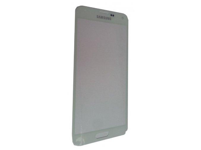 Samsung Galaxy S5 G900/G903 čelní dotykové sklo bílé