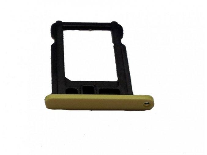 iPhone 5C držák nano SIM karty, žlutý
