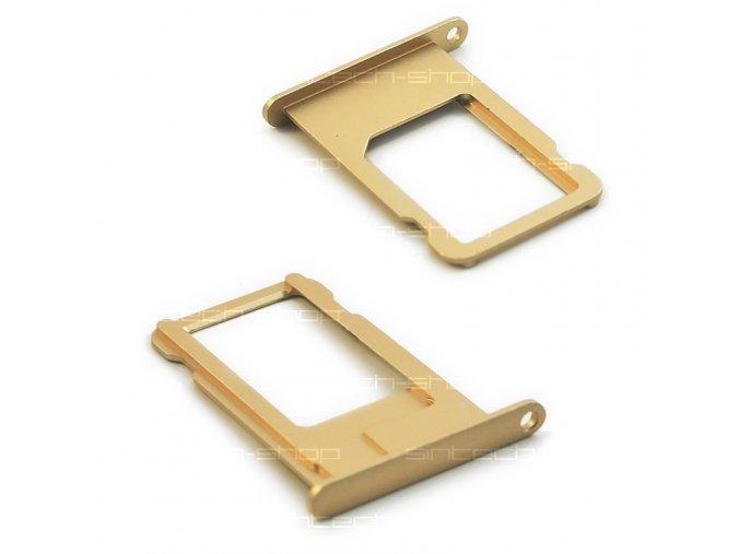 iPhone 6 držák nano SIM karty, zlatý (champagne gold)