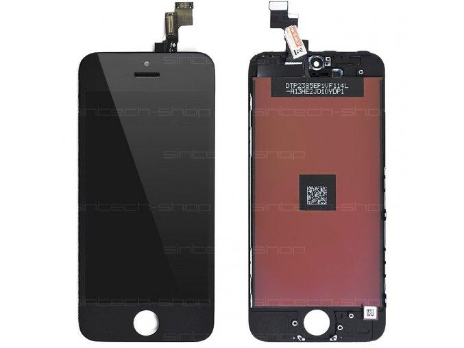 iPhone 5S LCD displej + dotyk - černý