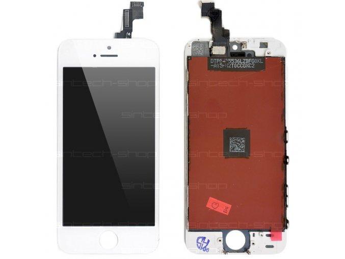 iPhone 5S LCD displej + dotyk - bílý