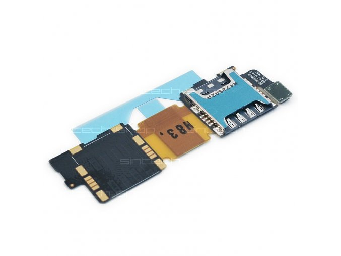 Samsung Galaxy S5 G900F slot SD a SIM karty