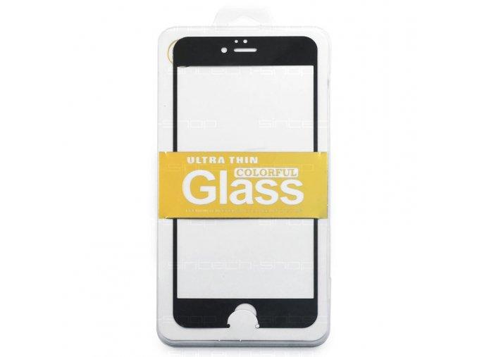 "Ochranné tvrzené sklo černé pro iPhone 6 Plus/6S Plus (5,5"")"