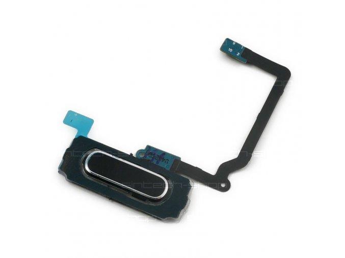 Samsung Galaxy S5 G900 - Home tlačítko černé s flexem