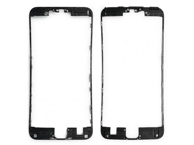 """iPhone 6S PLUS (5,5"""") černý - čelní rámeček skla"""
