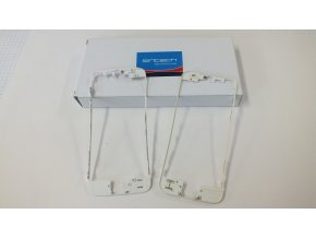 iPhone 5 čelní rámeček skla bílý