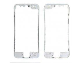 iPhone 5S/SE čelní rámeček skla bílý