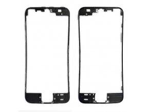iPhone 5S/SE čelní rámeček skla černý