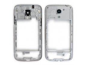 Samsung Galaxy S4 mini i9195 středový rám stříbrný