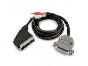 Amiga RGB Scart TV Kabel včetně zvukového výstupu