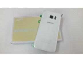 Samsung Galaxy S7 G930F zadní skleněný kryt baterie bílý