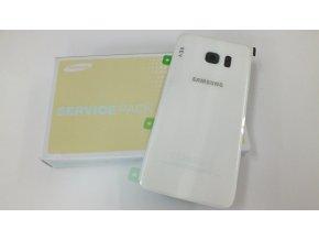 Samsung Galaxy S7 Edge G935F zadní skleněný kryt baterie bílý