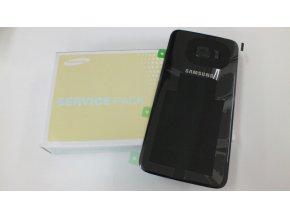 Samsung Galaxy S7 Edge G935F zadní skleněný kryt baterie černý