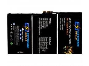 EXTREMECELLS© baterie pro iPad2, Premium kvalita