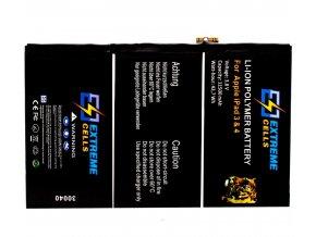 EXTREMECELLS© baterie pro iPad3 / iPad4, Premium kvalita
