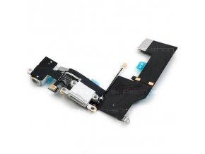 iPhone SE bílý, Lightning port se sluchátkovým jackem a mikrofonem