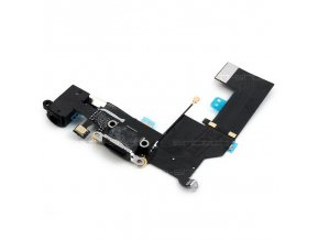 iPhone SE černý, Lightning port se sluchátkovým jackem a mikrofonem