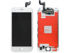 "iPhone 6S (4,7"") LCD displej s rámem a dotykem, bílý"