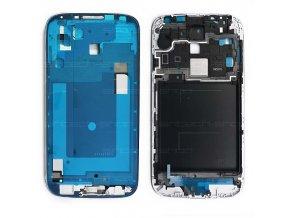 Samsung Galaxy S4  i9500/i9505 přední rám, stříbrný