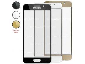 Samsung Galaxy A3 2016 (A310F) čelní dotykové sklo (Barevná varianta Zlatá)