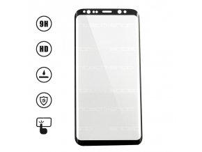 3D Ochranné Tvrzené Sklo 9H pro Samsung Galaxy S9 černé