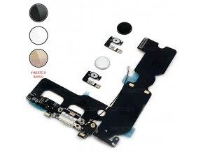 """iPhone 7 Plus (5,5"""") Home button s opětovnou funkcí + nabíjecí konektor"""