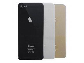 """iPhone 8 (4,7"""") zadní skleněný kryt baterie s čočkou kamery, různé barvy"""