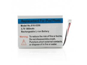 iPod 4G/Photo 20/40GB baterie 900 mAh, APN 616-0206