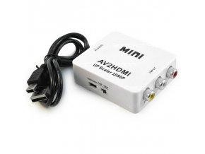 MINI KONVERTOR AV COMPOSITE NA HDMI 1080P