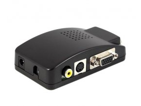 High Definition VGA Box Composite / S-Video na VGA
