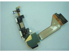 iPhone4 systémový konektor s flex kabelem - bílý