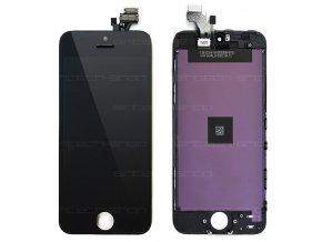 iPhone 5 SINTECH© Premium čelní díl s LCD - černý