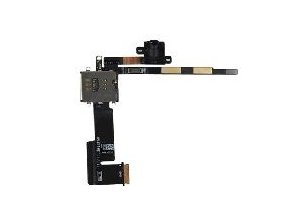 iPad 2 3G audio jack + slot Simkarty s flex kabelem