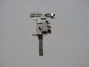 iPhone 4S konektor sluchátek s flex kabelem - bílý