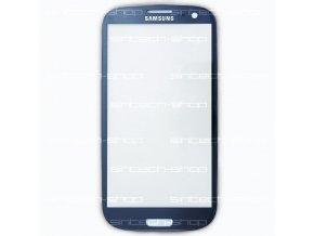 Samsung Galaxy S3 sklo dotykové, čelní, modré i9300/i9301